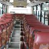 路線タイプ大型バス(55名乗り)様車内